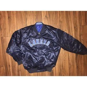 Reversible Los Angeles Lakers Adidas jacket  kobe